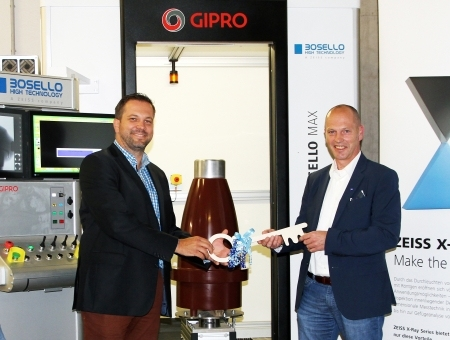 New X-ray inspection system for GIPRO insulators