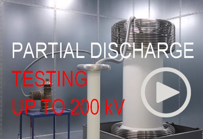 Partial Discharge testing 200 kV - GIPRO Insulators