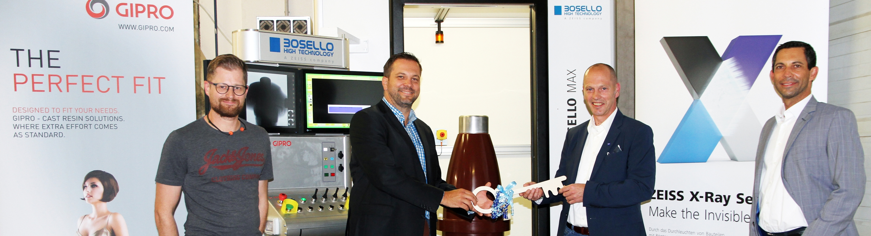 Zeiss delivers new X-ray Bosello SRE Max to GIPRO insulator's team