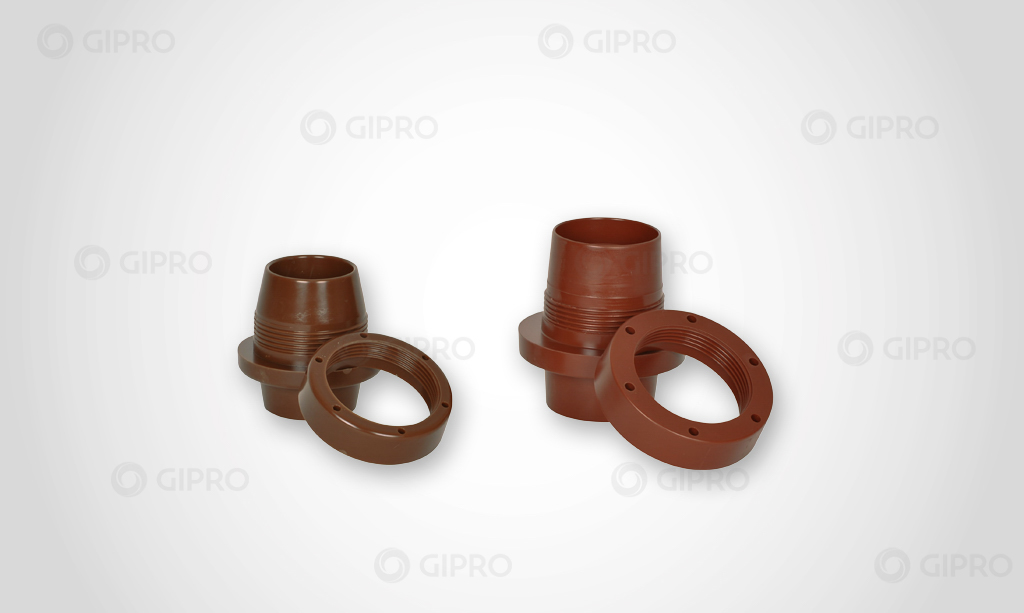 Medium-Voltage screwed-bushings